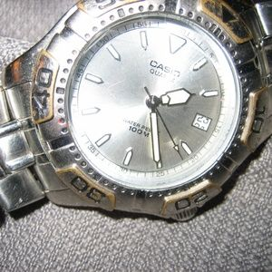 Men's Used Casio Stainless Steel WR Watch